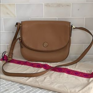 AUTHENTIC Tory Burch Saddle bag.